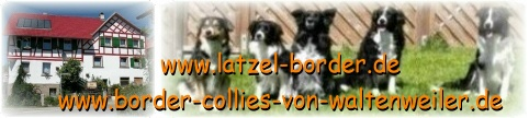 Gästebuch Banner - verlinkt mit http://www.latzel-border.de/